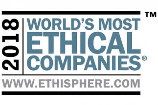 Ethisphere Institute, globální lídr v oblasti definování a prosazování norem etického podnikání, vyhlásil Rockwell Automation za nejetičtější společnost světa pro rok 2018 (2018 World's Most Ethical Company®).