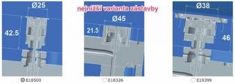 Obrázek 6: Zažehlovací ventily dostupné z konfigurátoru