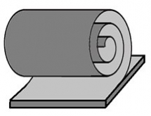 Schematický obrázek uhlíkové nanorole