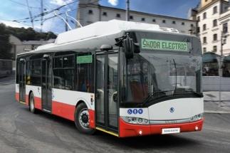 Díky bateriím dokáží nové trolejbusy obsluhovat i trasy, kde není trolejové vedení