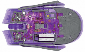 Obr. 6: Inspekce CT skenu sestavy multimateriálu