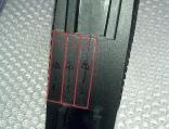 Obrázek 4: Řezy provedené v oblasti pažby