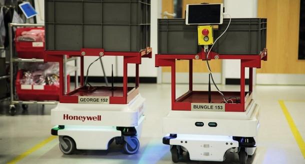 Mobilní roboty podporují štíhlou výrobu v Honeywell Analytics