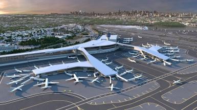 Inteligentní technologie Siemens budou řídit nový Centrální terminál B jednoho z nejvytíženějších letišť ve Spojených státech /Skanska Walsh Joint Venture/