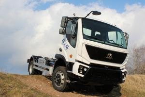 Provedení vozidla AVIA 4x4 je určeno pro lehký a střední terén