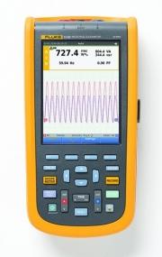 Průmyslový ruční osciloskop Fluke 120B s funkcí IntellaSet detekuje poruchy snadno a rychle