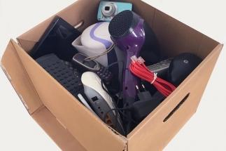 Drobný elektroodpad pošlete bezplatně balíkem