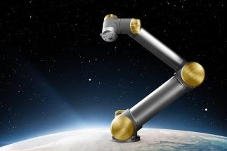 """Universal Robots věnuje jubilejního """"zlatého"""" robota"""