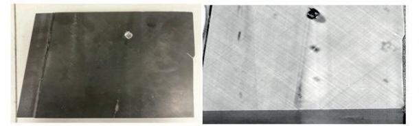 Obrázek 8: Kompozit s defektem