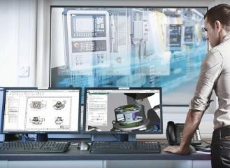 V digitalizované strojírenské výrobě jsou lidé, systémy a zařízení propojeny s digitálním vláknem, které zajišťuje, že se v každé fázi procesu používají správná data. Tento vysoce efektivní proces výroby snižuje náklady a zvyšuje výkonnost
