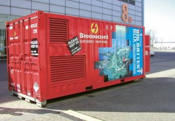 BIG BATERY BOX firmy Bredenoord 1,0 MW; 1,0 MWh6