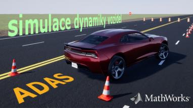 MATLAB R2018a: algoritmy pro návrh systémů ADAS a simulace dynamiky vozidel