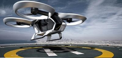 Elektrický CityAirbus je navržen tak, aby doplňoval koncepty městské mobility (vizualizace Airbus)