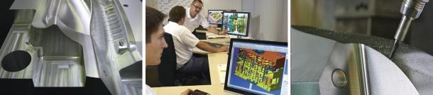 VISI pro modelování ploch nabízí spoustu užitečných a pokročilých funkcí a příkazů, pomocí kterých dokážou konstruktéři upravovat a opravovat importovaná data a rychle vytvářet složitá data ve 3D.