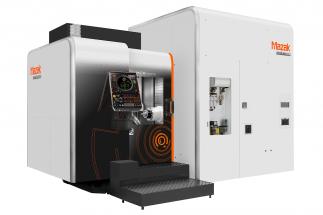 HCR-5000S je horizontální obráběcí centrum pro plynulé 5osé obrábění s unikátním sklápěcím otočným stolem. Je určené pro vysokorychlostní obrábění hliníku.