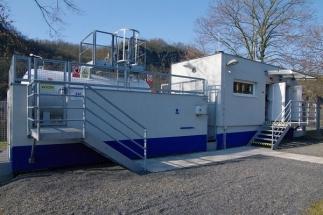 Vodíková stanice v Řeži vyrábí vodík pomocí fotovoltaiky