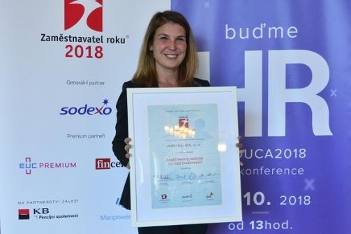 Unipetrol uspěl v 16. ročníku soutěže Zaměstnavatel roku