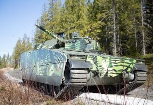 Bojové vozidlo pěchoty CV90 Mk IV
