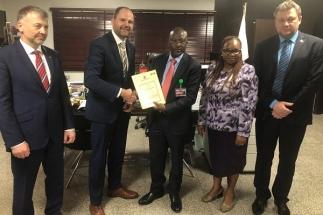 Smlouvu podepsali zástupci ERA a zákazníka, jímž je nigerijské řízení letového provozu NAMA