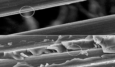 Nový spojovací prostředek pro uhlíková vlákna