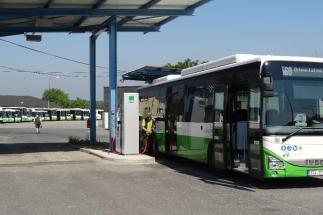 Gascontrol postavil v Orlové plnicí stanici pro CNG autobusy
