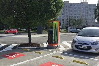 Hodonínský Kaufland nabídne zázemí pro elektromobily