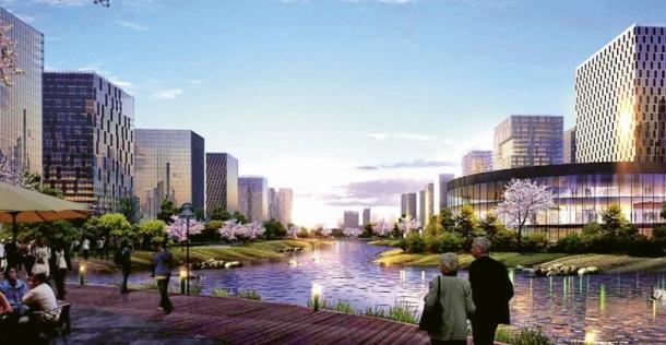 Město Yuhan CBD pro Unitown Design INC