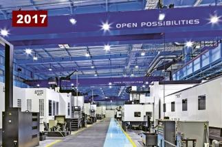 Dream Site 2: tento nejmodernější inteligentní závod, který byl otevřen v roce 2017, využívá inteligentní stroje a IoT, aby u výrobních linek pro smíšenou výrobu v malých dávkách dosáhl stejné výrobní efektivity jako v případě hromadné výroby