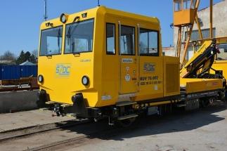 Vozidlo MUV 75 se série pro SŽDC