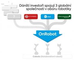 On Robot, OptoForce a Perception Robotics se spojují v jednu společnost: OnRobot