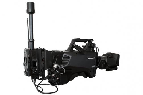 Externí bezdrátové řešení od IMT Vislink integrováno do řady studiových kamer Panasonic