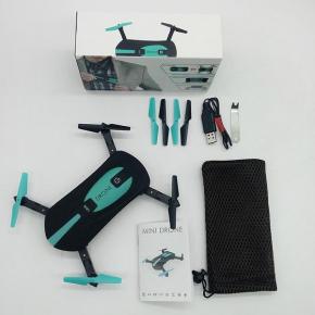 Nový selfie skládací dron 7S má opravdu miniaturní rozměry