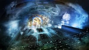 Panasonic maluje světlem Michelangela