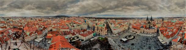 Fujitsu představilo unikátní panorama Prahy