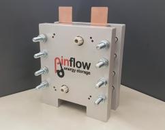Laboratorní jednočlánek vanadové redoxní průtočné baterie