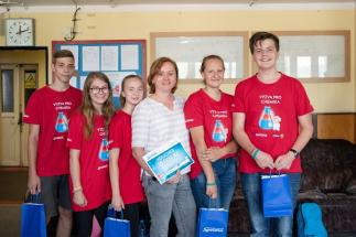 První ročník školní soutěže Výzva pro chemika vyhrál tým z Kladna