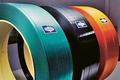 Výroba obalových pásků z PET lahví