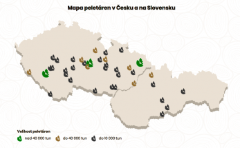 Mapa peletáren