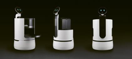 Trio robotů od LG Electronics