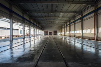 Ryko - nová hala pro demontáž vagónů
