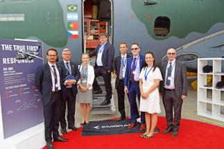 České letectví se představilo na Farnborough International AirShow 2018