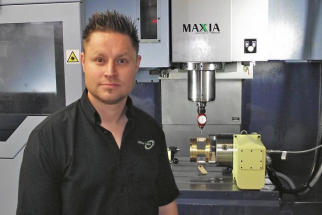 Dominic Prinsloo, technický ředitel společnosti Gibbs Gears