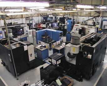 Pohled do výrobní haly firmy Gibbs Gears