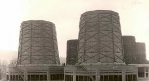 Elektrárna Trmice ve výstavbě