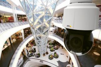 Kamery pomáhají i ve velkých nákupních centrech
