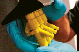 Pro hydraulické komponenty je vhodný polyuretanový elastomer