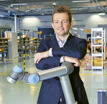 Esben Østergaard, spoluzakladatel a nynější technický ředitel společnosti Universal Robots