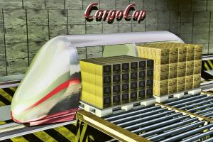 Automatické nakládání a vykládání europalet 800 × 1 200 mm se zbožím