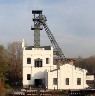 Oprava těžní budovy s těžní věží větrní jámy Alexander č. 2 letos získala zvláštní cenu poroty v soutěži Stavba Moravskoslezského kraje