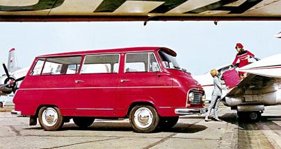 ŠKODA 1203 se stala nejrozšířenějším českým užitkovým automobilem 20. století, jen ve Vrchlabí vzniklo v letech 1968-1981 na 69 727 kusů. Samonosná trambusová karoserie existovala i v provedení mikrobus.